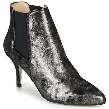 Παπούτσια Γυναίκα Μποτίνια Ippon Vintage SILVER LAKE Black / Silver