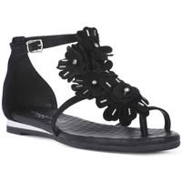 Παπούτσια Γυναίκα Σανδάλια / Πέδιλα Sono Italiana CROSTA NERO Nero