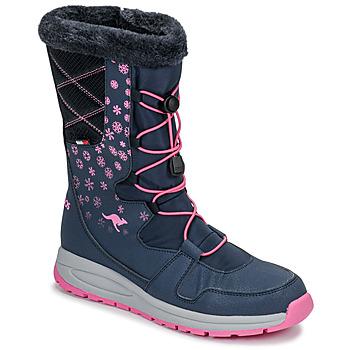 Παπούτσια Γυναίκα Snow boots Kangaroos K-GLAZE RTX Marine / Ροζ