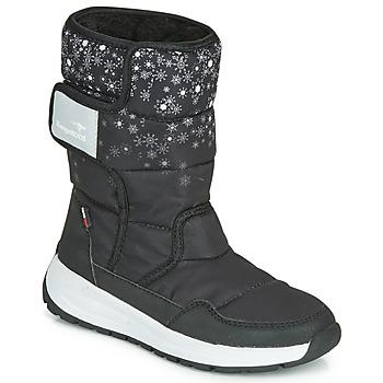Παπούτσια Κορίτσι Snow boots Kangaroos K-FLUFF RTX Black / Grey