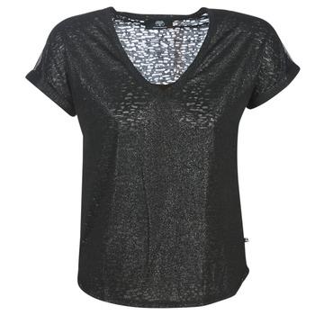 Υφασμάτινα Γυναίκα T-shirt με κοντά μανίκια Le Temps des Cerises OKINAWA Black