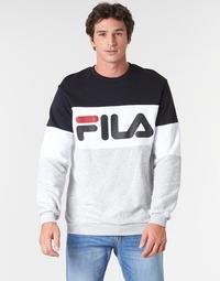 Υφασμάτινα Άνδρας Φούτερ Fila STRAIGHT BLOCKED CREW Grey / Black