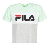 Υφασμάτινα Γυναίκα T-shirt με κοντά μανίκια Fila ALLISON TEE Μπλέ / Grey