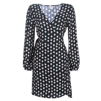 Υφασμάτινα Γυναίκα Κοντά Φορέματα Billabong LOVE WARRIOR Black