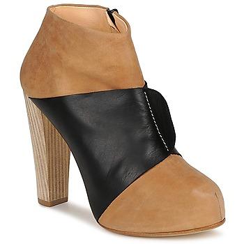 Παπούτσια Γυναίκα Μποτίνια Terhi Polkki EINY Beige / Black