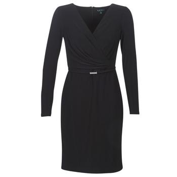 Υφασμάτινα Γυναίκα Κοντά Φορέματα Lauren Ralph Lauren ALEXIE Black