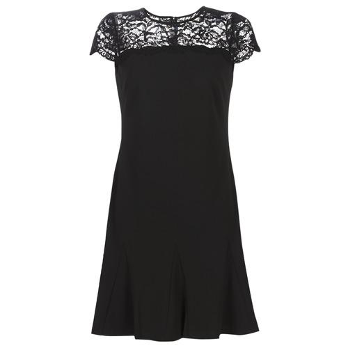 Υφασμάτινα Γυναίκα Κοντά Φορέματα Lauren Ralph Lauren CALLY Black