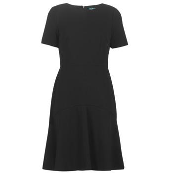 Υφασμάτινα Γυναίκα Κοντά Φορέματα Lauren Ralph Lauren BABA Black