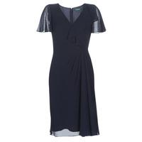 Υφασμάτινα Γυναίκα Μακριά Φορέματα Lauren Ralph Lauren CUTLER CAP SLEEVE DAY DRESS Marine