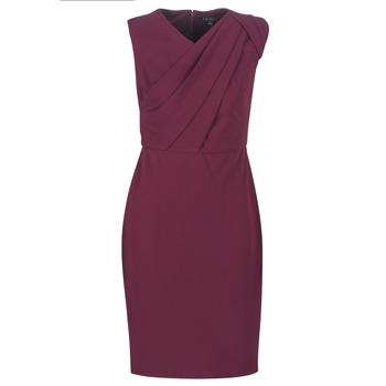 Υφασμάτινα Γυναίκα Μακριά Φορέματα Lauren Ralph Lauren RUBY SLEEVELESS DAY DRESS Bordeaux