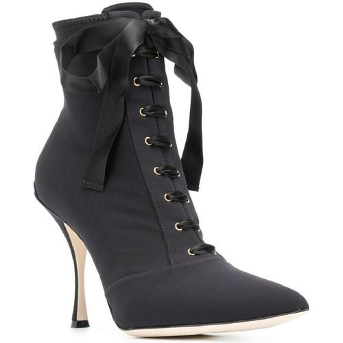 Παπούτσια Γυναίκα Μποτίνια D&G CT0471 AZ161 nero