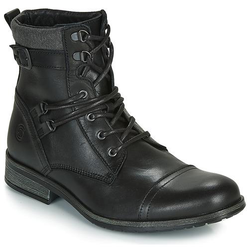 Παπούτσια Άνδρας Μπότες Casual Attitude RIVIGH Black