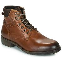 Παπούτσια Άνδρας Μπότες Casual Attitude LULLY Cognac