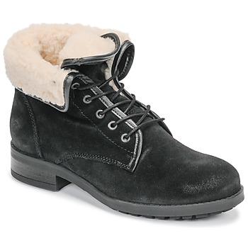 Παπούτσια Γυναίκα Μπότες Casual Attitude LEILA Black