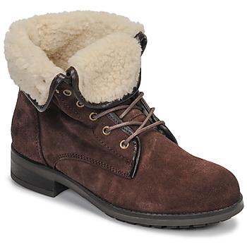 Παπούτσια Γυναίκα Μπότες Casual Attitude LEILA Brown