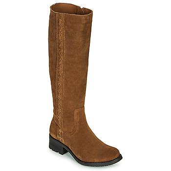 Παπούτσια Γυναίκα Μπότες για την πόλη Casual Attitude LOUNA Taupe