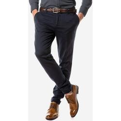 Υφασμάτινα Άνδρας Παντελόνια Chino/Carrot Sogo ΑΝΔΡΙΚΟ ΠΑΝΤΕΛΟΝΙ  ΜΠΛΕ Μπλε