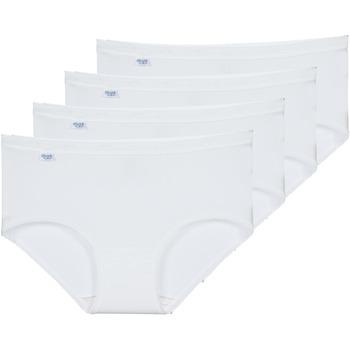 Εσώρουχα Γυναίκα Culottes Sloggi BASIC+ X 4 Άσπρο