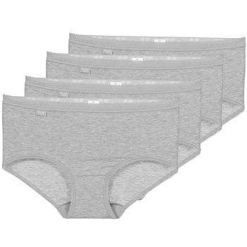 Εσώρουχα Γυναίκα Culottes Sloggi BASIC+ X 4 Grey
