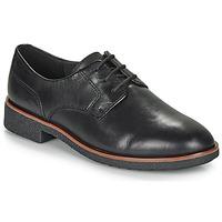 Παπούτσια Γυναίκα Derby Clarks GRIFFIN LANE Black