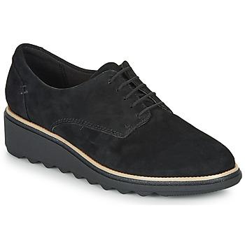 Παπούτσια Γυναίκα Derby Clarks SHARON NOEL Black