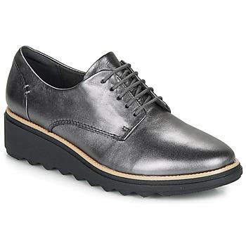 Παπούτσια Γυναίκα Derby Clarks SHARON NOEL Argenté