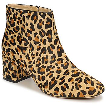 Παπούτσια Γυναίκα Μποτίνια Clarks SHEER FLORA Leopard