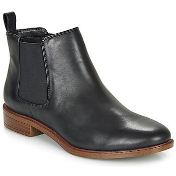 Παπούτσια Γυναίκα Μπότες Clarks TAYLOR SHINE Black