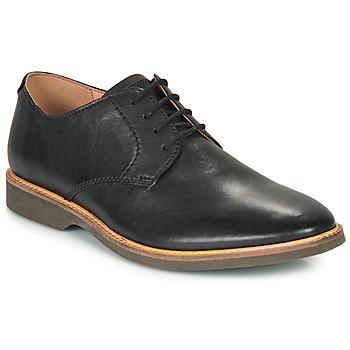 Παπούτσια Άνδρας Derby Clarks ATTICUS LACE Black