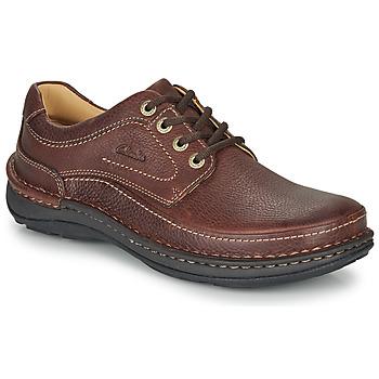 Παπούτσια Άνδρας Derby Clarks NATURE THREE Brown