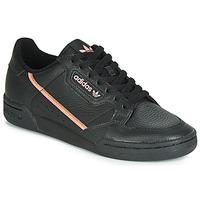 Παπούτσια Γυναίκα Χαμηλά Sneakers adidas Originals CONTINENTAL 80 W Black