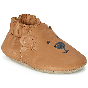 Παπούτσια Παιδί Σοσονάκια μωρού Robeez SWEETY BEAR Camel