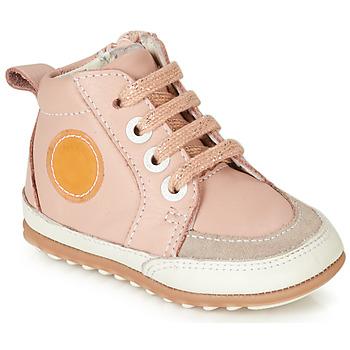 Παπούτσια Κορίτσι Ψηλά Sneakers Robeez MIGO Ροζ