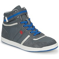 Παπούτσια Γυναίκα Ψηλά Sneakers Dorotennis BASKET NYLON ATTACHE Grey
