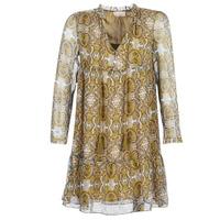 Υφασμάτινα Γυναίκα Κοντά Φορέματα Moony Mood LONI Yellow