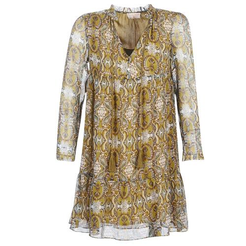 Υφασμάτινα Γυναίκα Κοντά Φορέματα Moony Mood PLONI Yellow