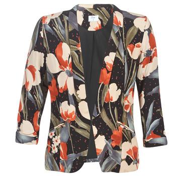 Υφασμάτινα Γυναίκα Σακάκι / Blazers Betty London IOUPA Black / Multicolour