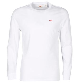 Υφασμάτινα Άνδρας T-shirt με κοντά μανίκια Levi's LS ORIGINAL HM TEE Άσπρο