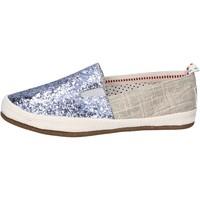Παπούτσια Γυναίκα Slip on O-joo BR132 Ασήμι