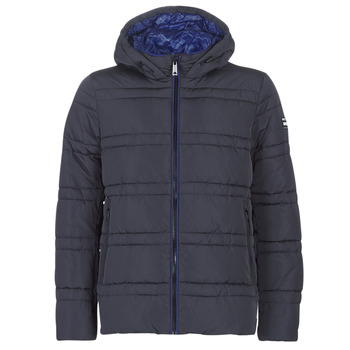 Υφασμάτινα Άνδρας Μπουφάν Scotch & Soda CLASSIC HOODED PRIMALOFT JACKET Marine