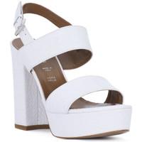 Παπούτσια Γυναίκα Σανδάλια / Πέδιλα Priv Lab BIANCO KAIMAN Bianco