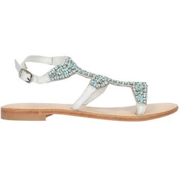 Παπούτσια Γυναίκα Σανδάλια / Πέδιλα Cristin CATRIN9 White and blue