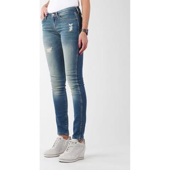 Υφασμάτινα Γυναίκα Skinny jeans Wrangler Sandy Blues W23S4072G blue