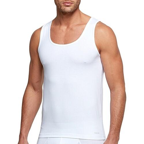 Υφασμάτινα Άνδρας Αμάνικα / T-shirts χωρίς μανίκια Impetus 1320898 001 Άσπρο