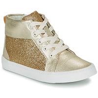 Παπούτσια Κορίτσι Ψηλά Sneakers Clarks CITY OASISHI K Gold