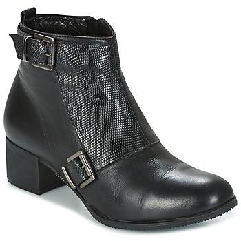 Παπούτσια Γυναίκα Μποτίνια Andrea Conti CASTEL Black