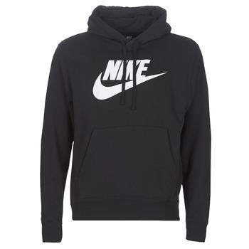 Υφασμάτινα Άνδρας Φούτερ Nike M NSW CLUB HOODIE PO BB GX Black
