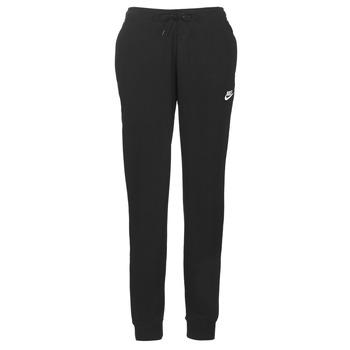 Υφασμάτινα Γυναίκα Φόρμες Nike W NSW ESSNTL PANT REG FLC Black