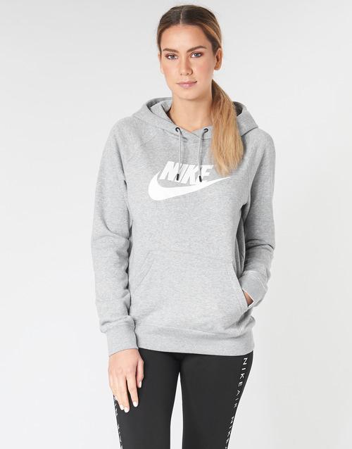 Υφασμάτινα Γυναίκα Φούτερ Nike W NSW ESSNTL HOODIE PO  HBR Grey
