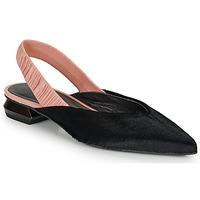 Παπούτσια Γυναίκα Μπαλαρίνες Heimstone SWEDES Black / Ροζ